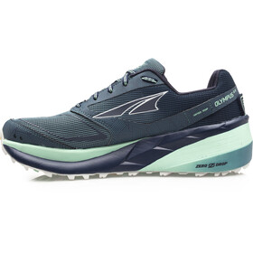 Altra Olympus 3.5 Trail Running Shoes Dame blue/green